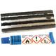 Diverse Tubeless-Reparatur-Kit Weldtite - para cubiertas sin cámara 5 rollos y pegamento Multicolor